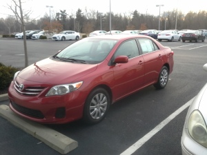 Car Toyota 12-14