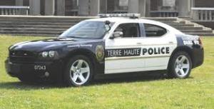 Terre Haute Police Car