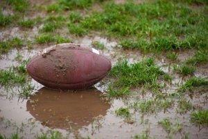 football muddy