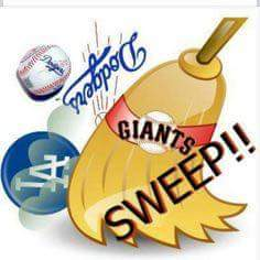 Giants Sweep