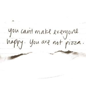 Pizza you are not