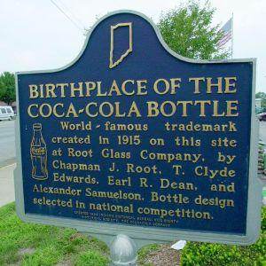 coke bottle birthplace sign