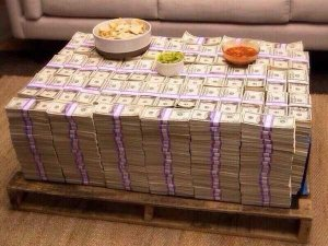 money coffee table