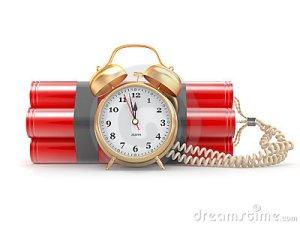 alarm clock bomb