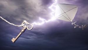 Kite with key