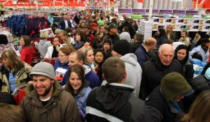 Sams Club crowd