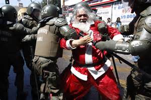Christmas bad drunk santa