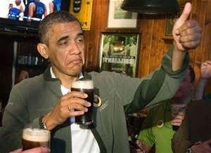 Liquor obama