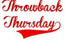 Throwback Thursday 2