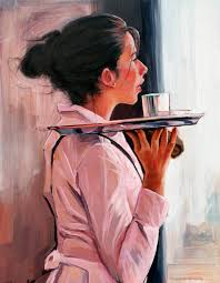 pull waitress